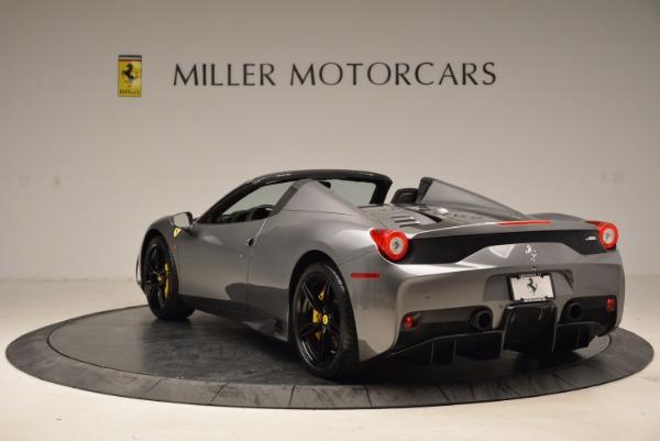 Used 2015 Ferrari 458 Speciale Aperta for sale Sold at Aston Martin of Greenwich in Greenwich CT 06830 5