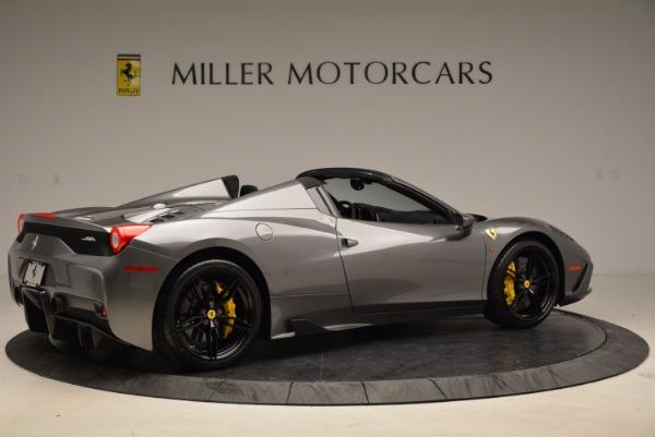 Used 2015 Ferrari 458 Speciale Aperta for sale Sold at Aston Martin of Greenwich in Greenwich CT 06830 8