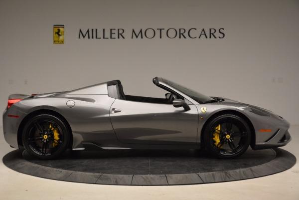 Used 2015 Ferrari 458 Speciale Aperta for sale Sold at Aston Martin of Greenwich in Greenwich CT 06830 9