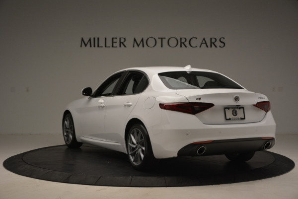 New 2018 Alfa Romeo Giulia Q4 for sale Sold at Aston Martin of Greenwich in Greenwich CT 06830 5