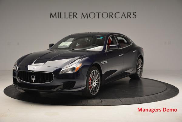 New 2016 Maserati Quattroporte S Q4  *******      DEALER'S  DEMO for sale Sold at Aston Martin of Greenwich in Greenwich CT 06830 1