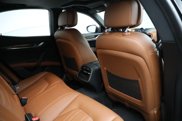 Used 2018 Maserati Ghibli S Q4 for sale Sold at Aston Martin of Greenwich in Greenwich CT 06830 22
