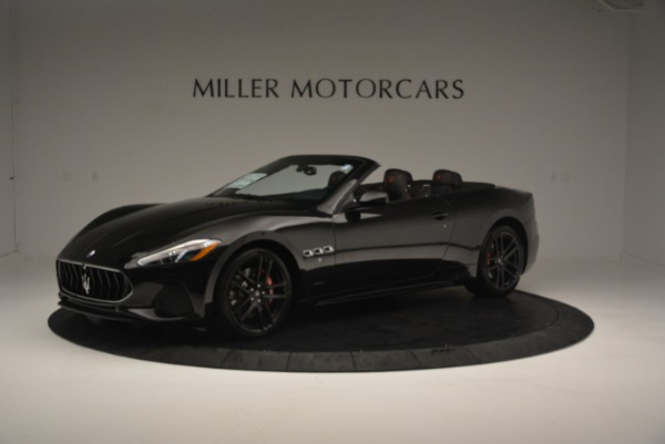 New 2018 Maserati GranTurismo Sport Convertible for sale Sold at Aston Martin of Greenwich in Greenwich CT 06830 16