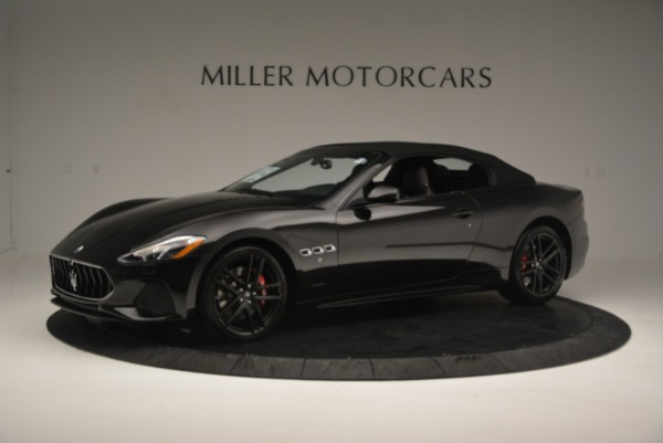 New 2018 Maserati GranTurismo Sport Convertible for sale Sold at Aston Martin of Greenwich in Greenwich CT 06830 2