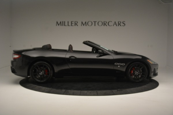 New 2018 Maserati GranTurismo Sport Convertible for sale Sold at Aston Martin of Greenwich in Greenwich CT 06830 23