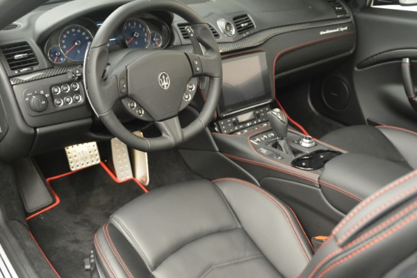 New 2018 Maserati GranTurismo Sport Convertible for sale Sold at Aston Martin of Greenwich in Greenwich CT 06830 28