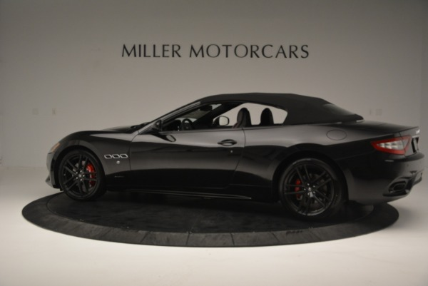 New 2018 Maserati GranTurismo Sport Convertible for sale Sold at Aston Martin of Greenwich in Greenwich CT 06830 4
