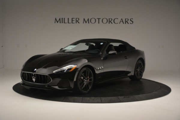 New 2018 Maserati GranTurismo Sport Convertible for sale Sold at Aston Martin of Greenwich in Greenwich CT 06830 1
