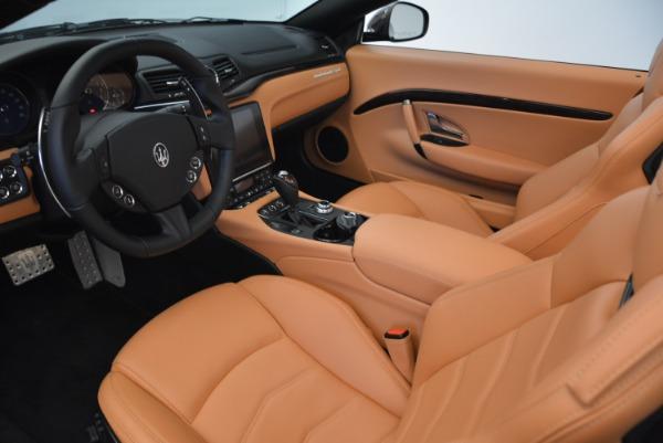 Used 2018 Maserati GranTurismo Sport Convertible for sale Sold at Aston Martin of Greenwich in Greenwich CT 06830 23