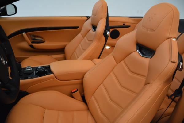 Used 2018 Maserati GranTurismo Sport Convertible for sale Sold at Aston Martin of Greenwich in Greenwich CT 06830 25