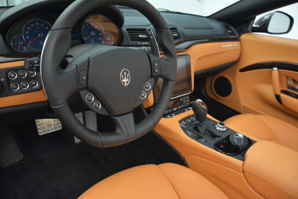 Used 2018 Maserati GranTurismo Sport Convertible for sale Sold at Aston Martin of Greenwich in Greenwich CT 06830 26