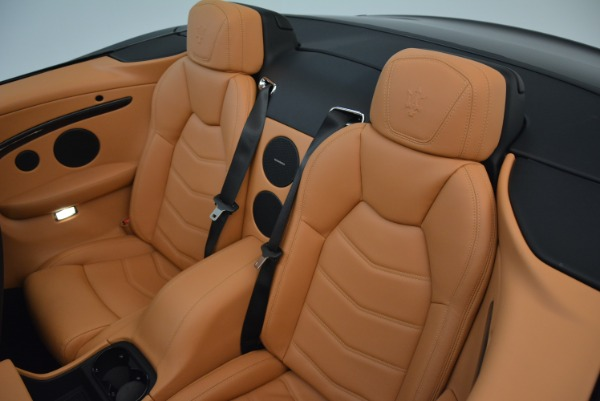 Used 2018 Maserati GranTurismo Sport Convertible for sale Sold at Aston Martin of Greenwich in Greenwich CT 06830 28