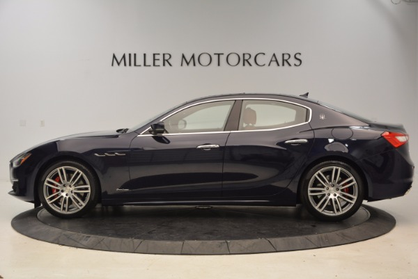 New 2018 Maserati Ghibli S Q4 GranLusso for sale Sold at Aston Martin of Greenwich in Greenwich CT 06830 3