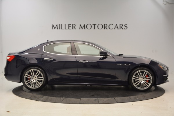 New 2018 Maserati Ghibli S Q4 GranLusso for sale Sold at Aston Martin of Greenwich in Greenwich CT 06830 9