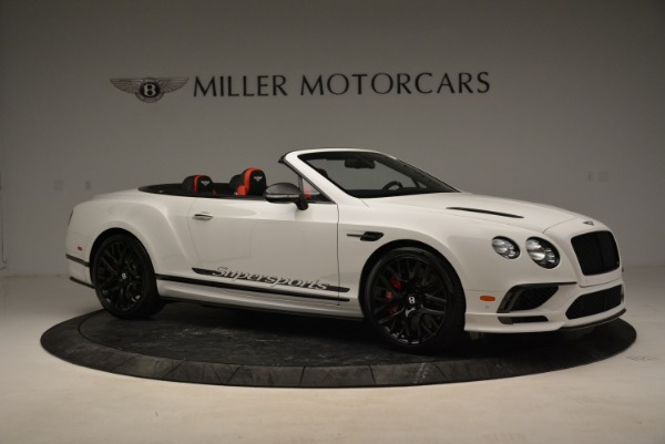 Used 2018 Bentley Continental GTC Supersports Convertible for sale $219,900 at Aston Martin of Greenwich in Greenwich CT 06830 10