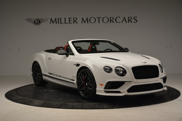 Used 2018 Bentley Continental GTC Supersports Convertible for sale $219,900 at Aston Martin of Greenwich in Greenwich CT 06830 11