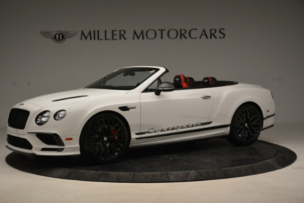 Used 2018 Bentley Continental GTC Supersports Convertible for sale $219,900 at Aston Martin of Greenwich in Greenwich CT 06830 2