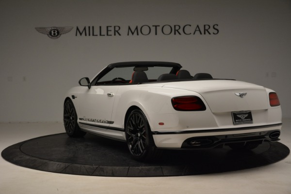 Used 2018 Bentley Continental GTC Supersports Convertible for sale $219,900 at Aston Martin of Greenwich in Greenwich CT 06830 5