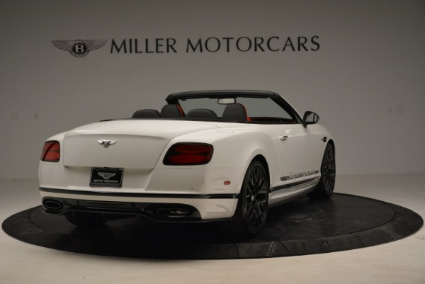 Used 2018 Bentley Continental GTC Supersports Convertible for sale $219,900 at Aston Martin of Greenwich in Greenwich CT 06830 7