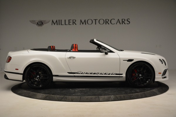 Used 2018 Bentley Continental GTC Supersports Convertible for sale $219,900 at Aston Martin of Greenwich in Greenwich CT 06830 9