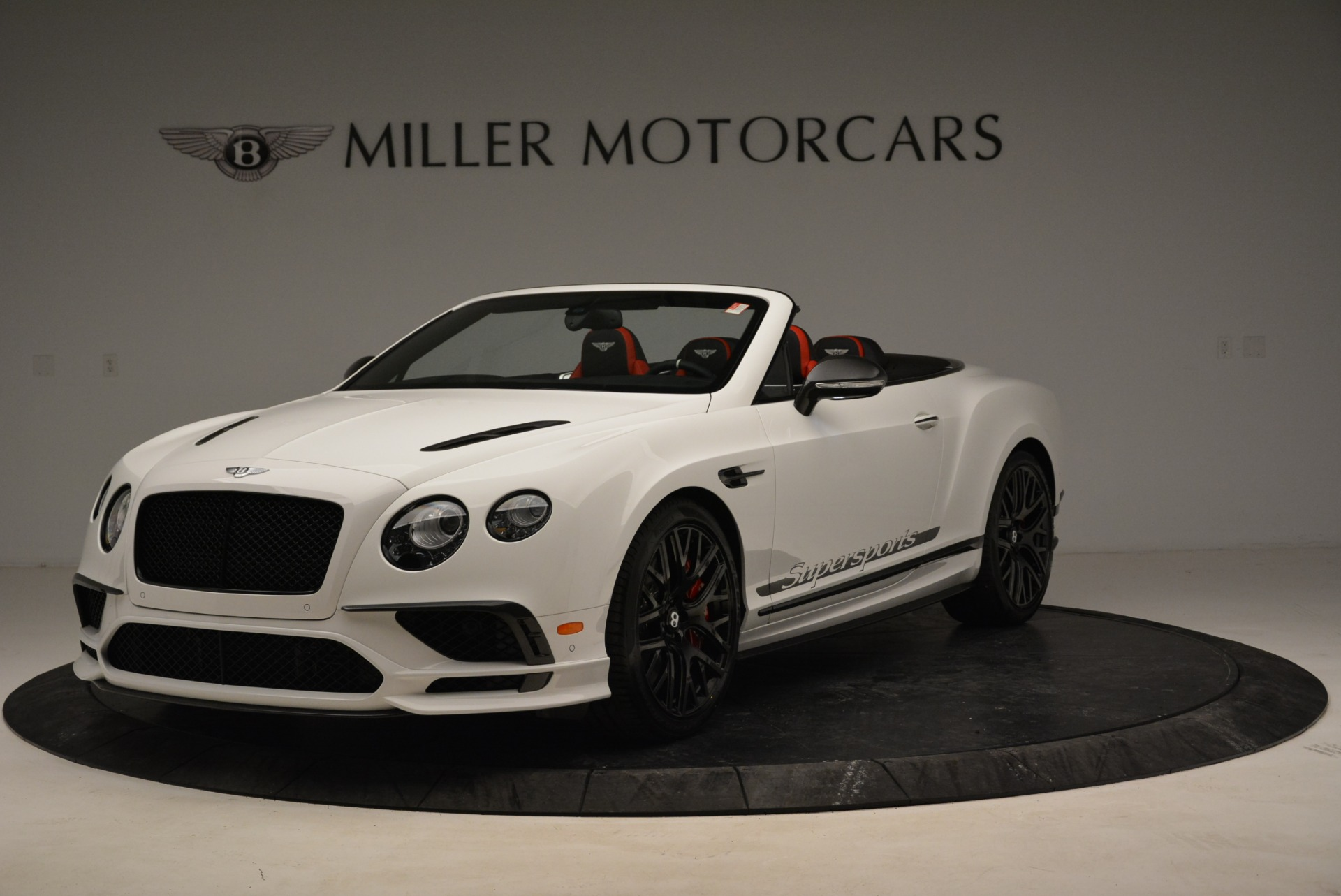 Used 2018 Bentley Continental GTC Supersports Convertible for sale $219,900 at Aston Martin of Greenwich in Greenwich CT 06830 1