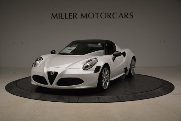 New 2018 Alfa Romeo 4C Spider for sale Sold at Aston Martin of Greenwich in Greenwich CT 06830 1