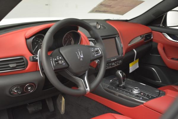 New 2018 Maserati Levante Q4 GranLusso for sale Sold at Aston Martin of Greenwich in Greenwich CT 06830 13