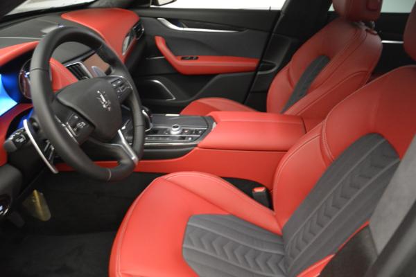 New 2018 Maserati Levante Q4 GranLusso for sale Sold at Aston Martin of Greenwich in Greenwich CT 06830 14