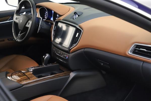 Used 2018 Maserati Ghibli S Q4 for sale $53,900 at Aston Martin of Greenwich in Greenwich CT 06830 22