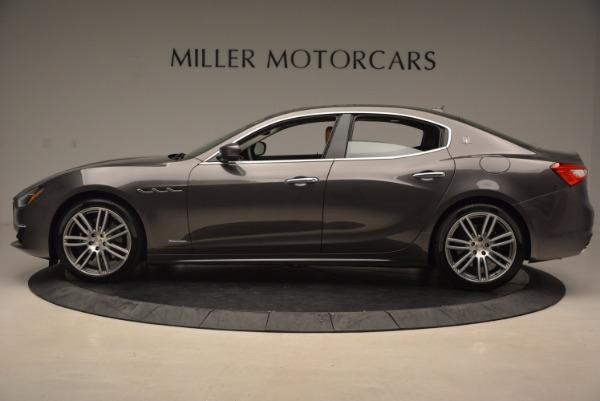 New 2018 Maserati Ghibli S Q4 GranLusso for sale Sold at Aston Martin of Greenwich in Greenwich CT 06830 3