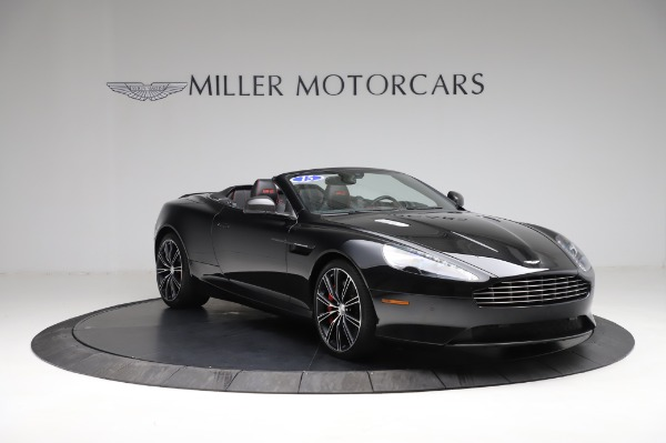 Used 2015 Aston Martin DB9 Convertible for sale Sold at Aston Martin of Greenwich in Greenwich CT 06830 10