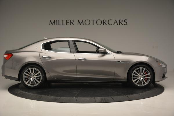 Used 2016 Maserati Ghibli S Q4 for sale Sold at Aston Martin of Greenwich in Greenwich CT 06830 9