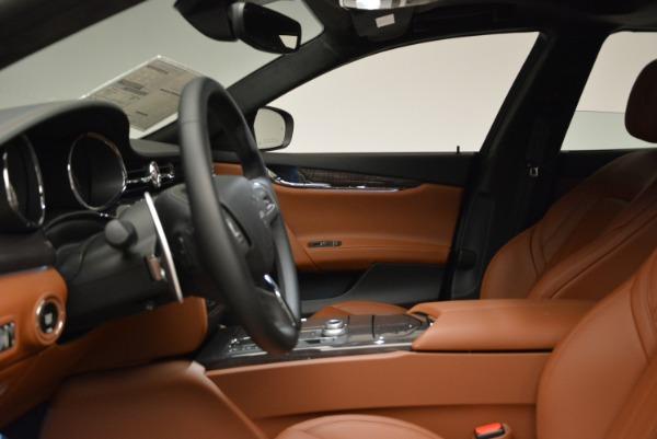 New 2018 Maserati Quattroporte S Q4 GranLusso for sale Sold at Aston Martin of Greenwich in Greenwich CT 06830 15