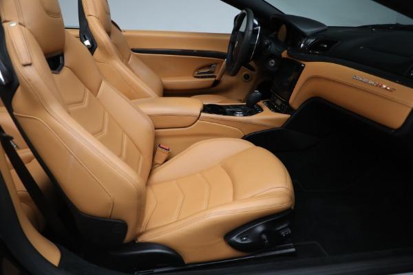 New 2018 Maserati GranTurismo MC Convertible for sale Sold at Aston Martin of Greenwich in Greenwich CT 06830 24