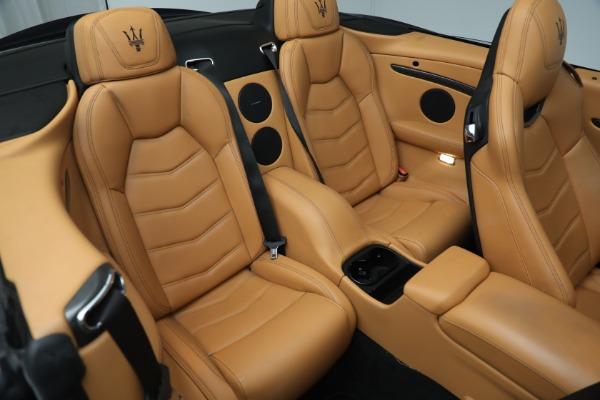 New 2018 Maserati GranTurismo MC Convertible for sale Sold at Aston Martin of Greenwich in Greenwich CT 06830 26