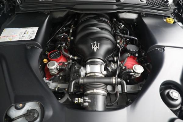 New 2018 Maserati GranTurismo MC Convertible for sale Sold at Aston Martin of Greenwich in Greenwich CT 06830 27