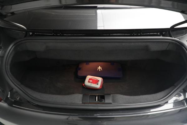 New 2018 Maserati GranTurismo MC Convertible for sale Sold at Aston Martin of Greenwich in Greenwich CT 06830 28