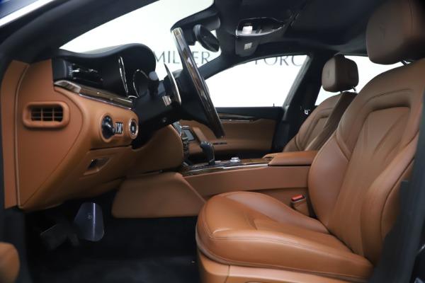 Used 2018 Maserati Quattroporte S Q4 GranLusso for sale $65,900 at Aston Martin of Greenwich in Greenwich CT 06830 15