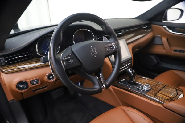 Used 2018 Maserati Quattroporte S Q4 GranLusso for sale $65,900 at Aston Martin of Greenwich in Greenwich CT 06830 16