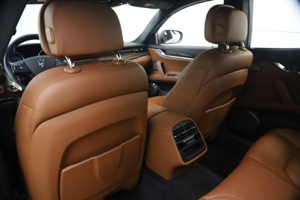 Used 2018 Maserati Quattroporte S Q4 GranLusso for sale $65,900 at Aston Martin of Greenwich in Greenwich CT 06830 20