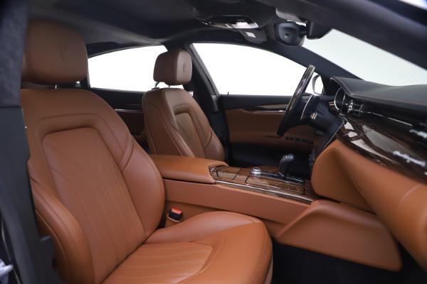 Used 2018 Maserati Quattroporte S Q4 GranLusso for sale $65,900 at Aston Martin of Greenwich in Greenwich CT 06830 21