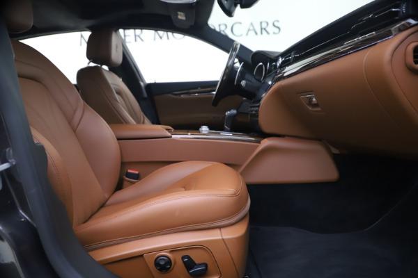 Used 2018 Maserati Quattroporte S Q4 GranLusso for sale $65,900 at Aston Martin of Greenwich in Greenwich CT 06830 22