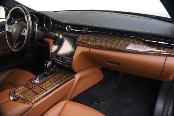 Used 2018 Maserati Quattroporte S Q4 GranLusso for sale $65,900 at Aston Martin of Greenwich in Greenwich CT 06830 23