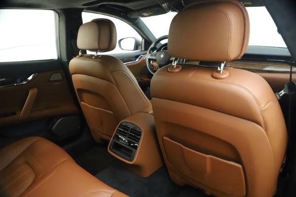 Used 2018 Maserati Quattroporte S Q4 GranLusso for sale $65,900 at Aston Martin of Greenwich in Greenwich CT 06830 26