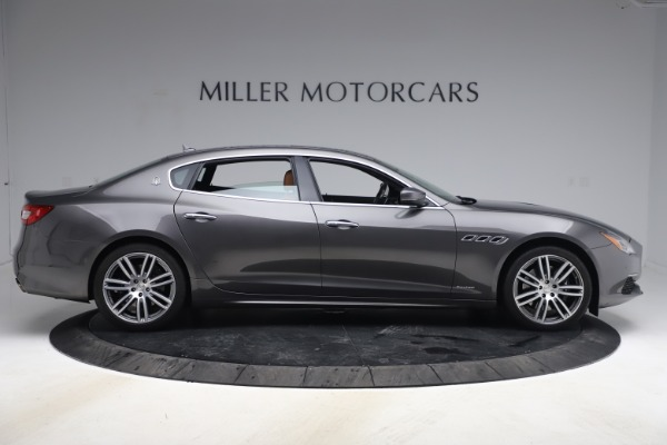 Used 2018 Maserati Quattroporte S Q4 GranLusso for sale $65,900 at Aston Martin of Greenwich in Greenwich CT 06830 9