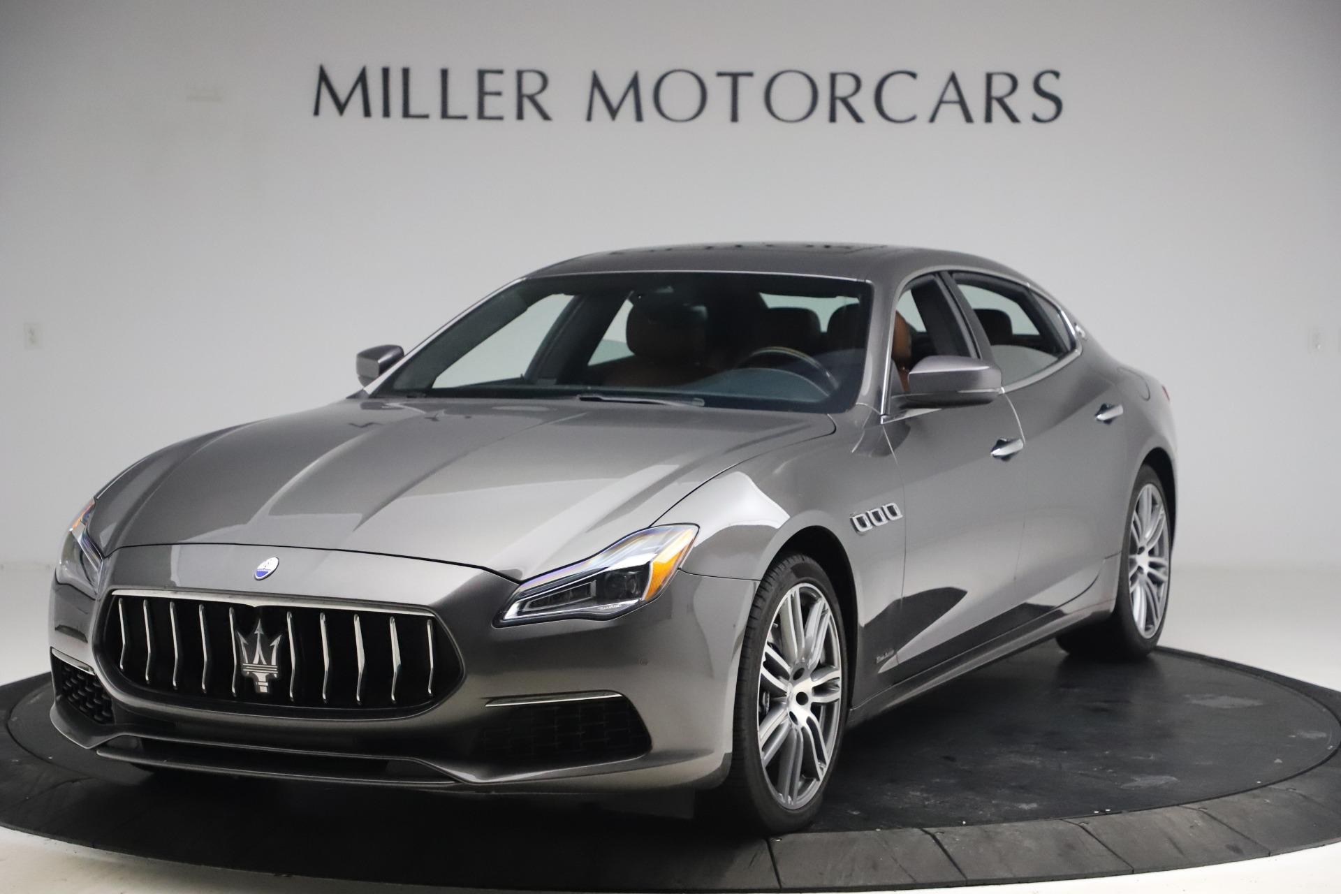 Used 2018 Maserati Quattroporte S Q4 GranLusso for sale $65,900 at Aston Martin of Greenwich in Greenwich CT 06830 1