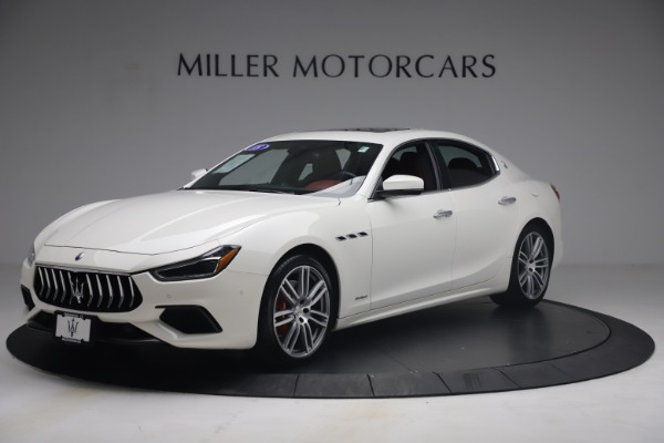 Used 2018 Maserati Ghibli S Q4 GranSport for sale $55,900 at Aston Martin of Greenwich in Greenwich CT 06830 2