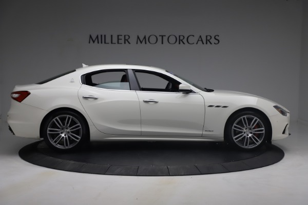 Used 2018 Maserati Ghibli S Q4 GranSport for sale $55,900 at Aston Martin of Greenwich in Greenwich CT 06830 9