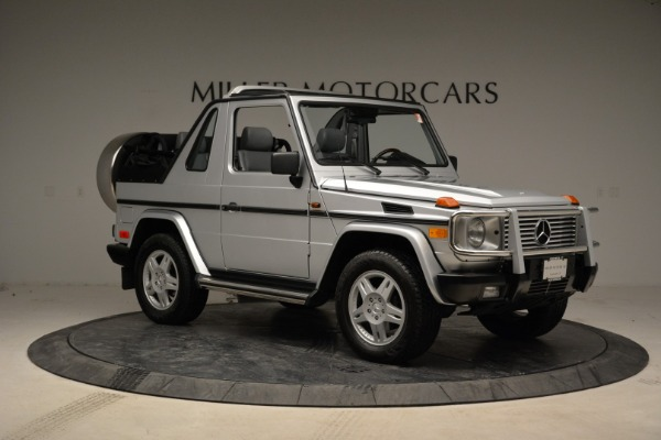 Used 1999 Mercedes Benz G500 Cabriolet for sale Sold at Aston Martin of Greenwich in Greenwich CT 06830 10