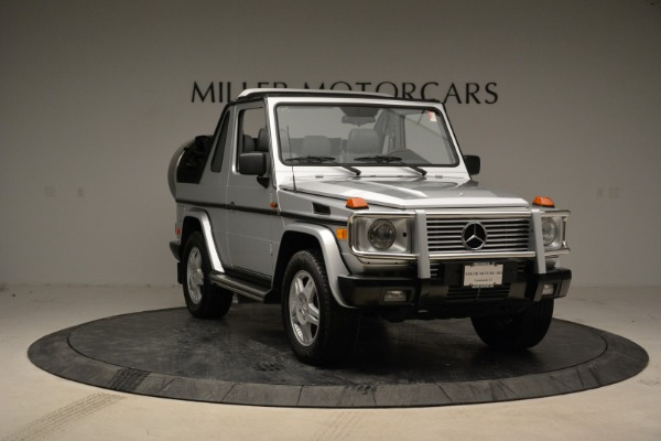 Used 1999 Mercedes Benz G500 Cabriolet for sale Sold at Aston Martin of Greenwich in Greenwich CT 06830 11